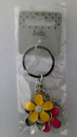 Three flower charm/keyring (Code 3123)